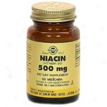 Solgar Niacin 500mg 50vcaps