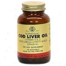 Solgar Norweigen Cod Liver Oil 100sg
