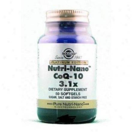 Solgar Nutri-nano Coq-10 3.1x 50sg
