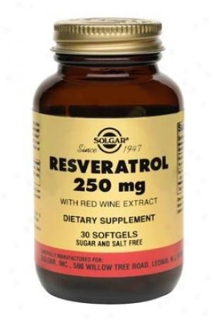 Solgar Resveratrol 250mg 30sg
