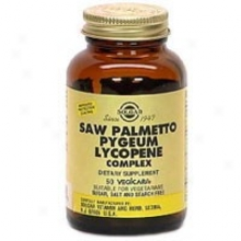 Solgar Saw Palmetto/pygeum Lycopene Complex 50vcaps