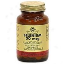 Solgar Selenium 50mcg 100tabs