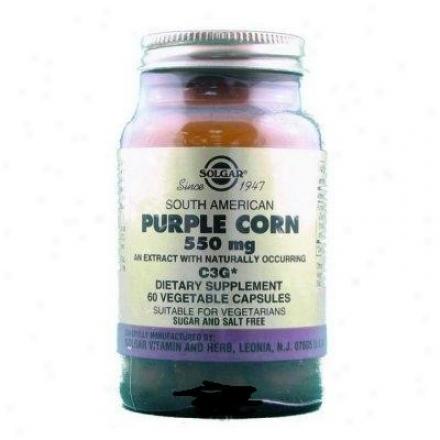 Solgar South American Purple Corn Extdact 550mg 60vcaps