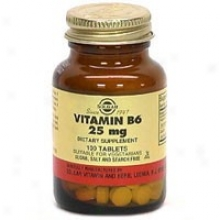 Solgar Vitamin B6 25mg 100tabs