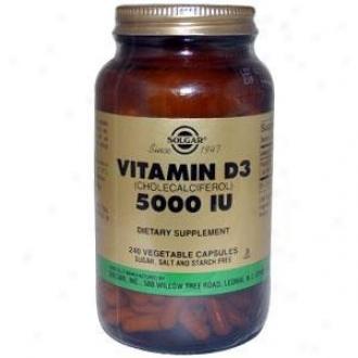 Solgar Vitamin D3 5000iu 240vcaps