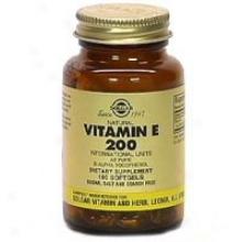 Solgar Vitamin E 200iu Alpha 100ag