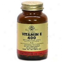 Solgar Vitamin E 400iu Mixed 50sg