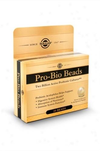 Solgar's Pro-bio Beads 3b0eads~