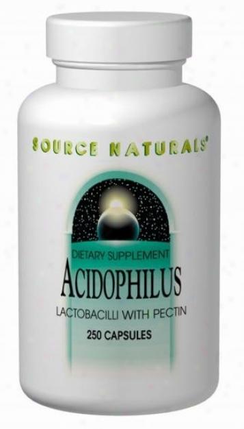 Source Naturals Acidophilus (lactobacilli W/ Pectin) 100tabs