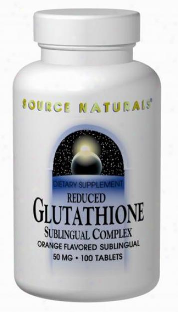 Source Naturals Glutathione Complex 50mg 45tabs