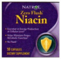 Natrol's Zeroo Flush Niacin 50 Caps