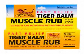 Tiger Balm's Muscle Rub 2oz