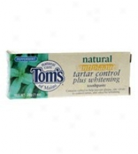 Tom's Of Maine, Antiplaque Taartar Control & Whitening, Peppermint Toothpaste