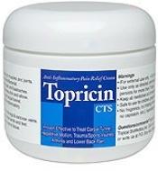 Topical's Biomedics Topricin Cts (anti Infla Pain Relief Cream) 4.0oz