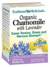 Traditional Medicinal Chamomile And Lavander Tea 16bags