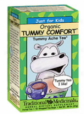 Traditional Medicinal Just For Kids Organic Tummy Comfort Tea 18bags