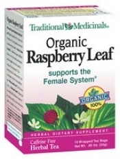 Traditional Medicinal Organic Raspberry Leaf Tea 16bags