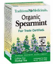 Traxitipnal Medicinal Organic Spearmint 16bags