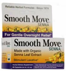 Traditional Medicinal Smooth Senna Caps 50 Caps