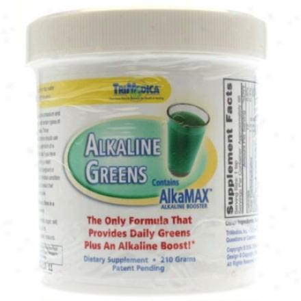 Trimedica's Alkaline Greens W/ Alkamax Powder 210gm