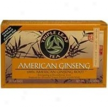 Triple Leaf  American Ginseng Tea 20bags