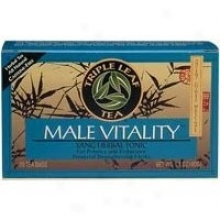 Triple Infusion  Horny Goat Weed, Male Vitality Tea 20bags