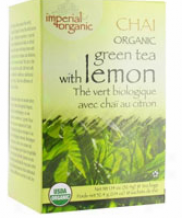 Uncle Lee's Imperial Organic Lemon Ginger Green Tea 18 Ct