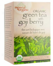 Uncle Lee's Inpeiral Organic Green Tea With Goki Berry 18 Ct