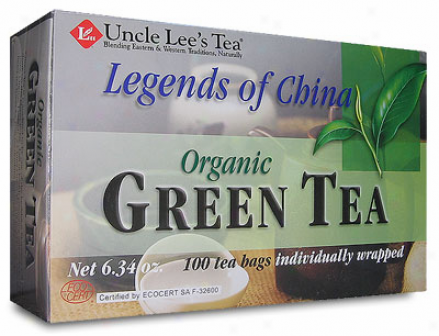 Uncle Lee's Legends Of China Organic Green Tea 100tbags