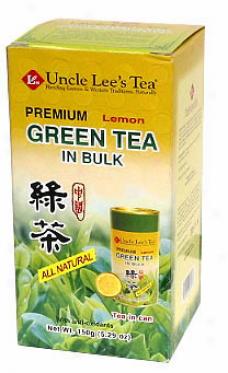 Uncle Lee's Loose Lemon Flourishing Tea In Bulk Can (natural) 5.29oz