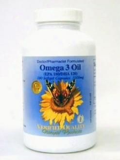 Verified Quality's Omega 3 1000 Mg 100 Gels