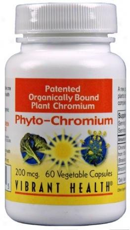 Vibrant Health's Phyto-chromium 200mcg 60vcaps
