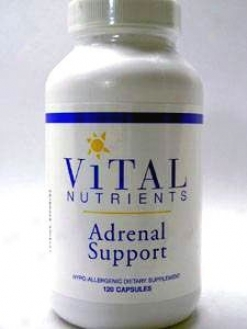 Vital Nutrient's Adrenal Support 120 Caps