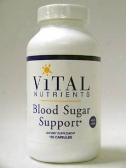 Vital Nutrient's Blood Sugar Support 120 Vcaps