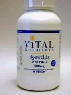 Vital Nutrient's Boswellia Extract 400 Mg 90 Vcaps