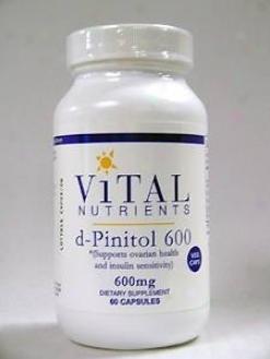 Vital Nutrient's D-pinitol 600 Mg 60 Caps