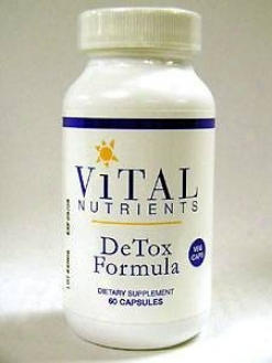 Vktal Nutrient's Detox Formula 60 Vcaps