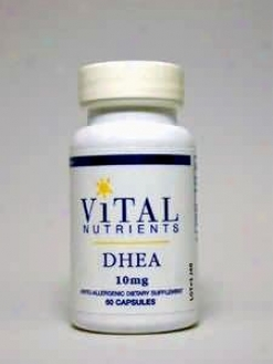 Vital Nutrient's Dhea 10 Mg 60 Caps
