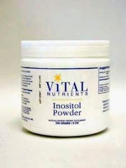 Vital Nutrient's Inositol Powder 8 Oz