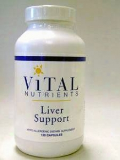 Vital Nutrient's Liver Support 120 Caps
