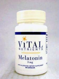 Vital Nutrient's Melatonin 3 Mg 60 Caps