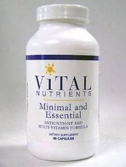 Vital Nutrient's Minimal & Essential 90 Caps