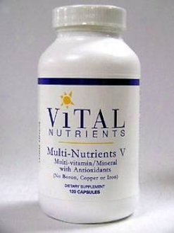 Vital Nutrient's Multi Nutrients V(5) 120 Caps
