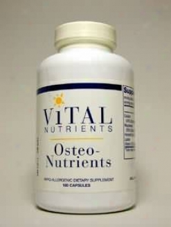 Vital Nutrient's Osteo-nutrients 180 Caps