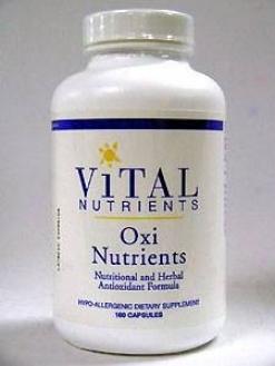 Vital Nutrient's Oxi Nutrients 120 Caps