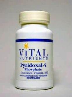 Vital Nutrient's Pyridoxal 5-phosphate 50 Mg 90 Caps