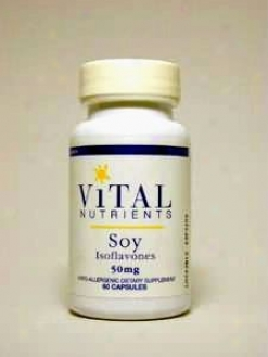 Vital Nutrient's Soy Isoflavones 50 Mg 60 Caps