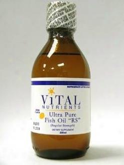 """Vital Nutrient's Ultra Pure Fish Oil Liq. """"""""rs"""""""" 200 Ml"""