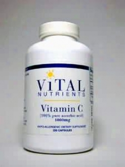 Vital Nutrient's Vitamin C Pure 1000 Mg 220 Caps