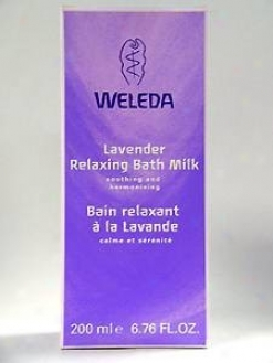 Weleda Body Care's Lavender Relaxing Bath Milk